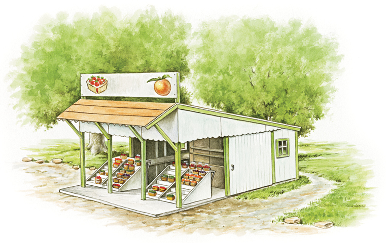 Roadside Stand Designs : Stand and deliver myfarmlife the web site of agco