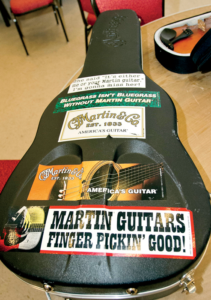Martin Guitars mean these guys are serious about music,