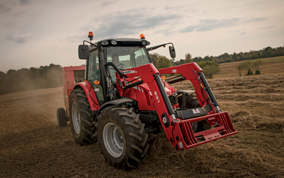 New Massey Ferguson® large-frame 5600 Series tractors