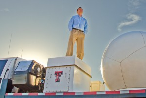 John Schroeder and his band of Texas Tech graduate students hit the road for weeks at a time to research storms. Photo by Karl Wolfshohl