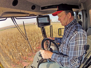 Dean Sleezer says he enjoys the comfort, quiet and operator-friendly ergonomics of the MF9500 Series cab.