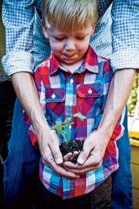 Your little sprout will love digging in the dirt.
