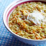 Carrot-Dill Orzo Salad