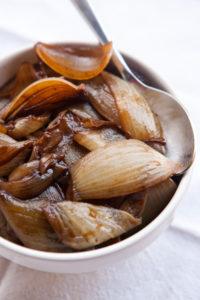 Balsamic-Italian Herb Roasted Onions