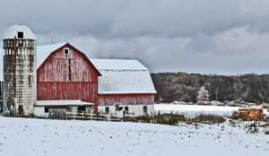 Winter on the farm can be nice, but it's good to get away to farm shows, too.