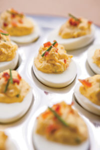 Bacon-and-Chive Deviled Eggs