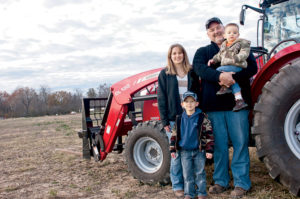 The Snider family with the MF8670.
