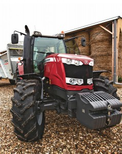 The new Massey Ferguson 6600 Series tractors can be tailored to fit a variety of operations.