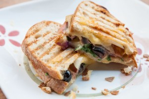 Blueberry-Pear Paninis