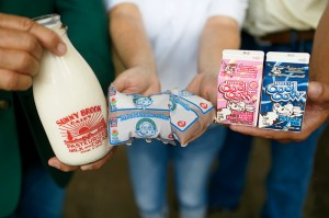 A 65,000-square-foot processing plant packages more than 1 million units of milk and juice products every day.