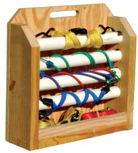 Tie-down organizer