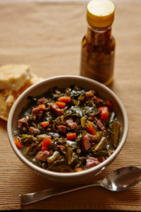 Slow-Cooked Collards