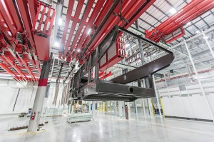 AGCO has built a new $40 million, 200,000-square-foot paint facility at its plant in Hesston, Kan.