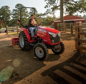 Massey Ferguson® 1700E Series tractor.