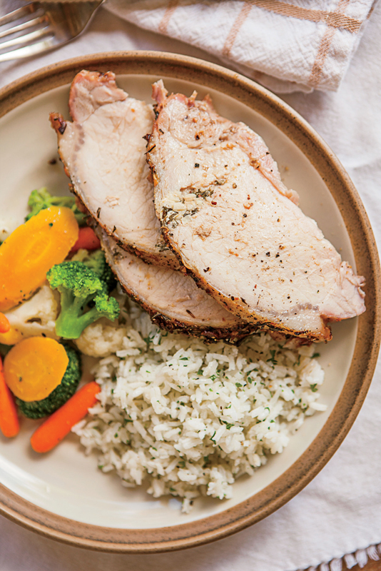 Italian Pork Loin Roast
