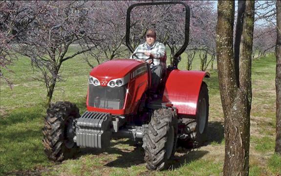 Low Profile Tractor : The massey ferguson low profile tractor myfarmlife