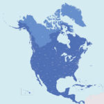 Super-America: The Canadian-U.S. watershed map