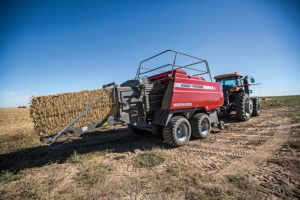 The Hesston 2270XD large square baler