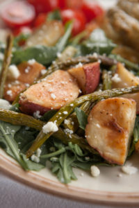 Roasted New Potato-Asparagus Salad