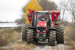 MF8660 running on the farm.