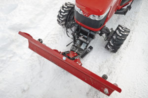 The MF1700 Series is adept at snow removal.
