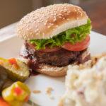 Barbecue Venison Burgers