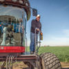 AGCO-made windrowers have increased efficiency in harvesting alfalfa.