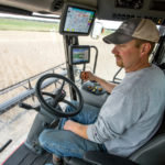 Managing a farm operation that stretches 120 miles is something Baum takes in stride thanks to a solid fieldwork strategy and the right machinery. As a result, he puts a premium on performance, which is a big reason Baum chose a Massey Ferguson combine.