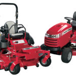 Zero-turn mowers and lawn tractors