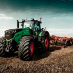 Fendt Vario Tractor in a crop field