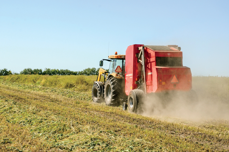Wrap It Up with a Hesston Baler | myFarmLife com