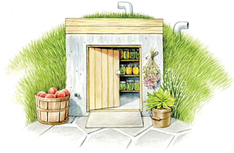 A root cellar is the perfect place to store the fruits and vegetables you worked hard  sc 1 st  myFarmLife.com : cold cellar design  - Aeropaca.Org