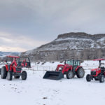 Tractors in extreme weather conditions