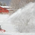 Massey Ferguson snow blowers