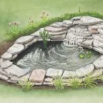 Follow these 12 steps to build a small pond in your backyard or garden and easily create a relaxing, enjoyable oasis that will enhance your existing landscape.