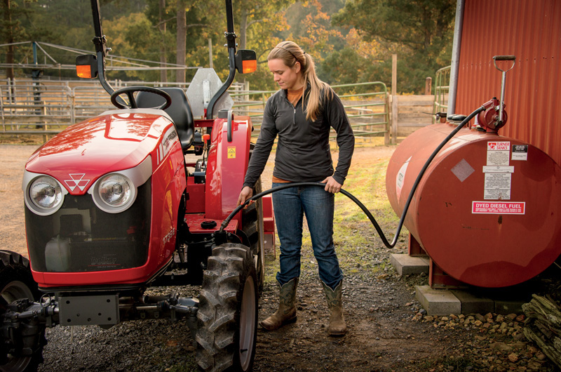 Massey Ferguson Girls : A family of compact utility tractors that can do it all